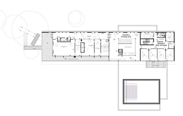 metz mediatheque agora sc nographie. Black Bedroom Furniture Sets. Home Design Ideas
